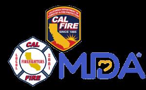 MDA_Union_CAL FIRE logo