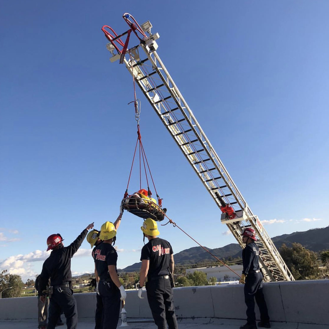 RRU ladder rescue training